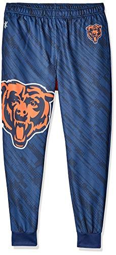 NFL Herren Jogger Hose, Herren, New England Patriots Polyester Mens Jogger Pant Double Extra Large, New England Patriots, XX-Large