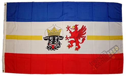 Mecklenburg Vorpommern Landesflagge Bundesland Wappen Fahne
