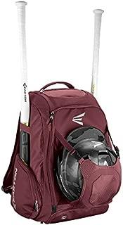 Easton Walk-Off IV Bat & Equipment Backpack Bag | Baseball Softball | 2020 | 2 Bat Sleeves | Vented Shoe Pocket | External Helmet Holder | Zippered Side Pockets | Valuables Pocket | Fence Hook