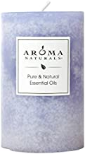 Aroma Naturals Essential Oil Tranquility Pillar Candle, 2.5