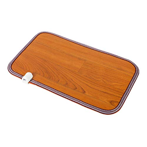 NBVCX Home Accessories Carbon Crystal Warm Foot Pad Moving Floor HeatingHeating Pad with Auto Shut Off Machine Washable for Relaxation and Warming (Size : 50x80cm)