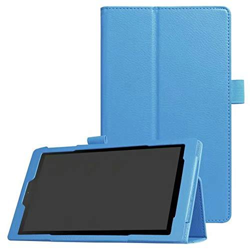kindle Fire HD 8 6th Generation 第6世代 2016(8インチHD Display 2016リリース)レザーケース超薄型軽量フォリオスタンディングPUカバー[オートスリープ/ウェイクアップ]アマゾンに最適New Kindle