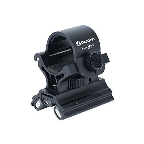 OLIGHT X-WM03 Magnet Halterung für Taschenlampe mit kraftvoll mit leistungsstarker Magnet für Profis - bis max Durchmesser 23-26 mm
