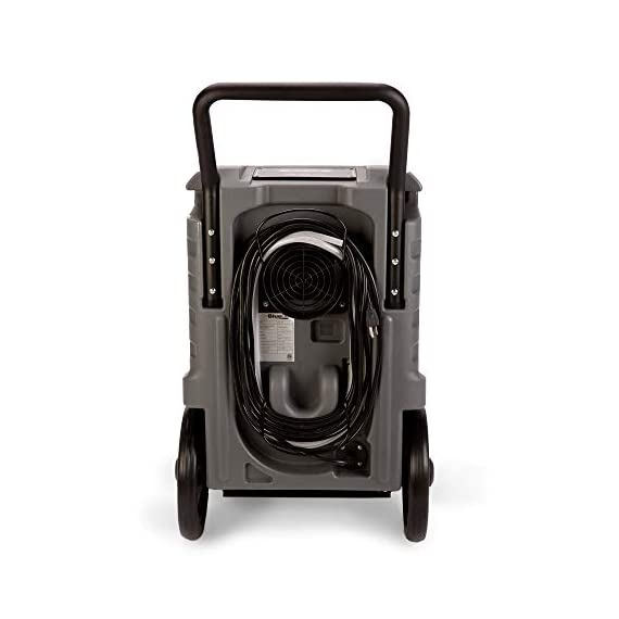 BlueDri BD-76 Water Damage Equipment Industrial Commercial Grade Large Dehumidifier for Home, Basements, Garages, and Job Sites - 76 AHAM/150 Saturation PPD, Pack of 8, Green 3 150 PINT DEHUMIDIFIERS - Ideal for water damage restoration projects of up to 150 pints per day at saturation (90ºF 90%RH)/76 PPD at AHAM (80ºF 60%RH), removing more water per day than normal 70 pint capacity dehumidifiers. CONVENIENT - This dehumidifier is packed with built in automatic water pump, digital panel, compact electrical control with auto restart, hour counter, RH and temperature sensors, drain hose, so you can get any job site done with just a few buttons. COMMERCIAL AND INDUSTRIAL USE - Designed to withstand the rigors of the toughest spaces, the BD-76 can go into construction zones and buildings damaged by flooding and other water accidents and work hard overnight or continuous for days at a time.