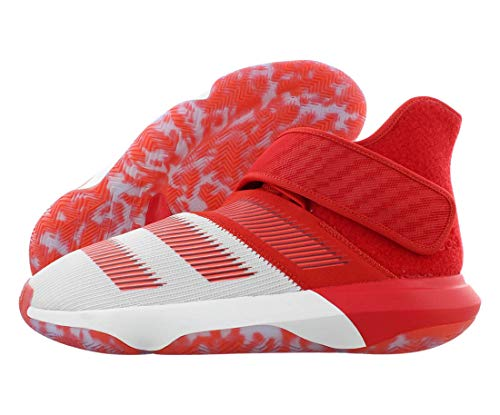 adidas Harden B/E 3 Mens Shoes Size 11.5 White/Red
