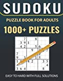 1000+ Sudoku Puzzles Easy to Hard: Sudoku puzzle book for adults With Full Solutions