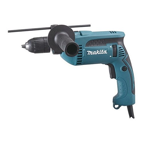 Makita HP1641 240 V Percussion Drill with Keyless Chuck