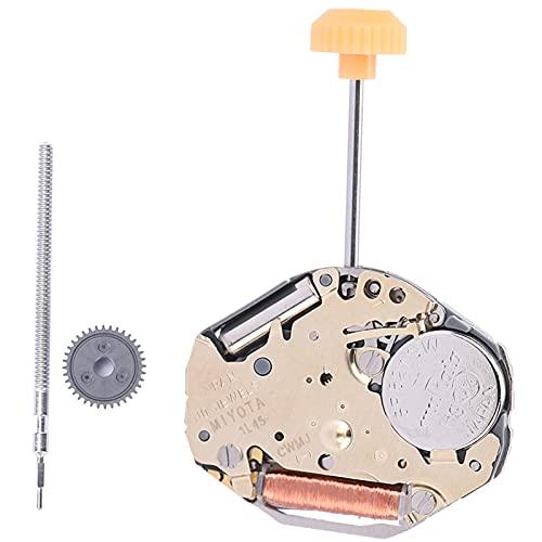 Movimiento del reloj de la aleación, hecho del movimiento del reloj del reemplazo del material de aleación con relojeros con Reparadores de relojes para el hogar