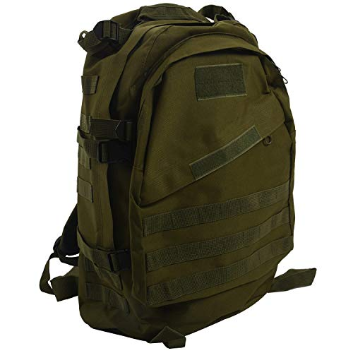 Camisin 40L Outdoor Military Rucksack Backpack Hiking Camping Trekking Bag - green