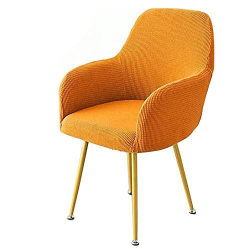 TOTE Funda de Silla de Comedor Universal Elastica Chair Cover de Escritorio,Estilo Nórdico Funda Silla Oficina,Cubiertas de Sillas para Cocina Sala de Estar Hotel Hogar Decor (Color : K, Size : 2PCS)