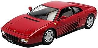 1989 Ferrari 348 TB Red Elite Edition 1/18 by Hotwheels V7436