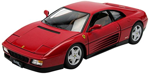 1989 Ferrari 348 TB Red Elite Edition 1/18 by Hotwheels V7436