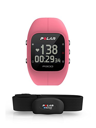 Polar A300 Fitness und Activity Tracker mit Polar Bluetooth Smart Herzfrequenz-Sensoren kompatibel