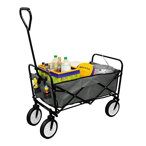 GEORGES Faltwagen - Bollerwagen - Faltbarer Handwagen - Strandwagen - Gartenanhänger - Festivalwagen (Antharit)