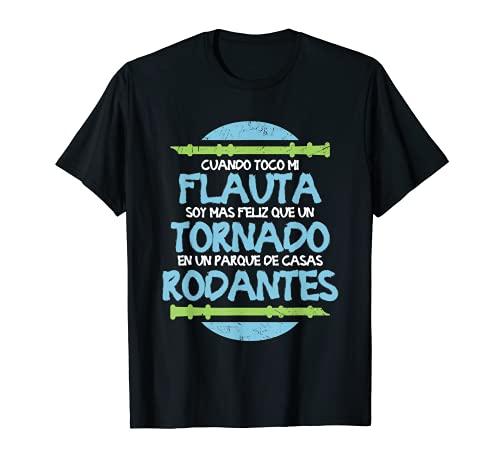 Flauta Dulce Instrumento Pifano - Músico Flautista Camiseta