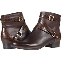 Trotters Mika Dark Brown Zipper/ Buckle Women's Boot