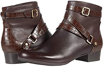 Trotters Mika Dark Brown Zipper / Buckle Women's Boot