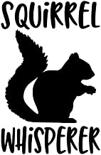 Di Cut Decal HomeLaptopComputerTruckCar Bumper Sticker Decal Squirrel Holding Acorn