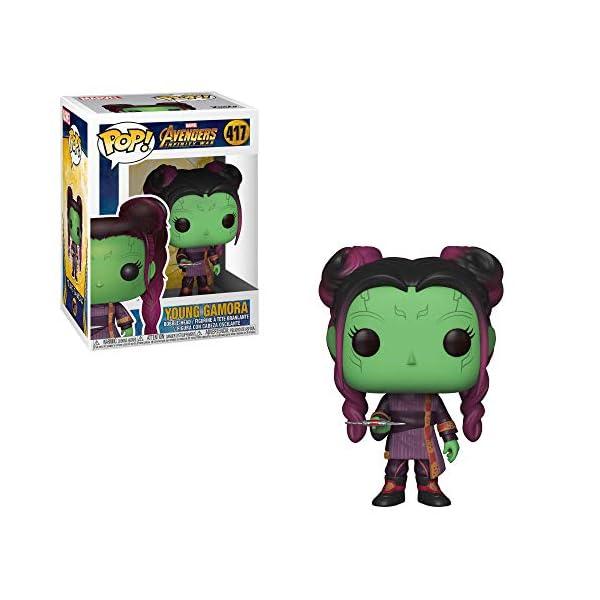 Funko Pop Gamora Joven (Los Vengadores: Infinity War 417) Funko Pop