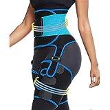 Dobiyar Upgraded High Waist Thigh Trimmer -3 in 1 Waist Trainer- Butt Lifter for Women - Adjustable...