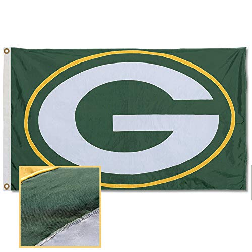 WinCraft Green Bay Packers Embroidered Nylon Flag