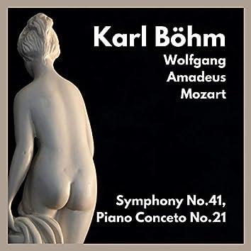 Symphony No.41, Piano Conceto No.21 by Mozart