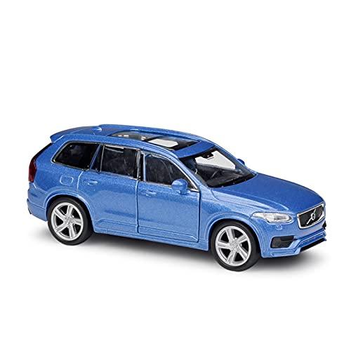 para Volvo XC90 1:36 Modelo Coche Fundición A Presión Aleación De Metal con Sonido Y Luz Regalos Coche Juguete para Niños