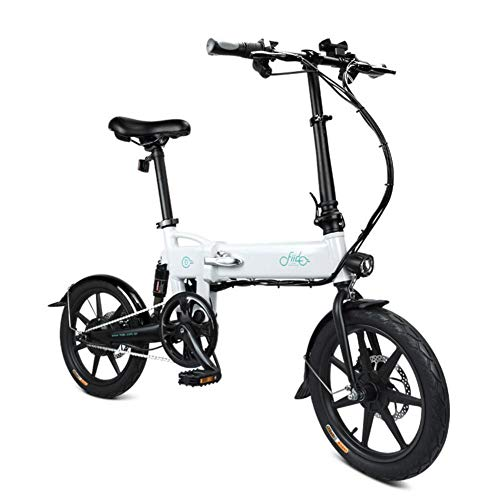mysticall D2 Electric Bike Folding for Adult, E-Bike, 250W watt Motor 16 inch Scooter Electric,7.8Ah Folding Electric Bicycle with LED Light,up to 25 km/h