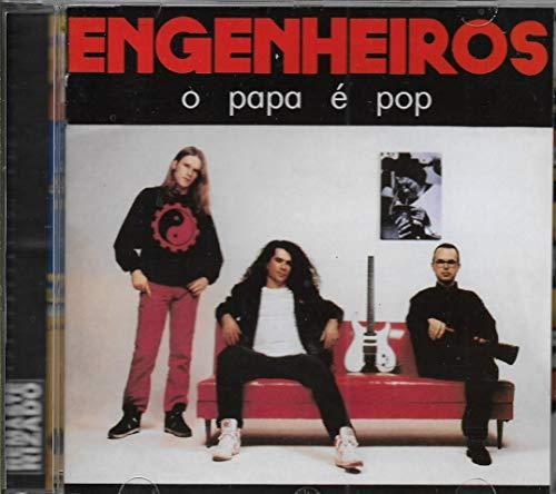 Engenheiros do Hawaii - Cd O Papa é Pop - 1990 - Remaster