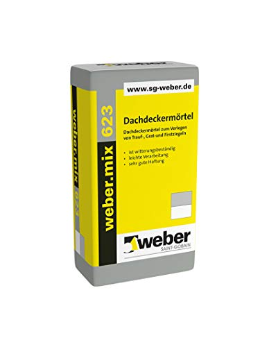 Weber.mix 623 Dachdeckermörtel Mauermörtel Putzmörtel Trockenmörtel Mörtel