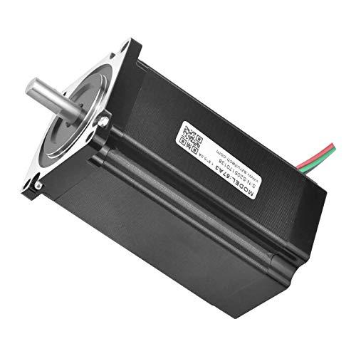 Rtelligent Stepper Motor Stepping Nema 23 Schrittmotor Bipolar Open Loop CNC 3Nm 4 A 2 Phase 100MM Länge für 3D-Drucker