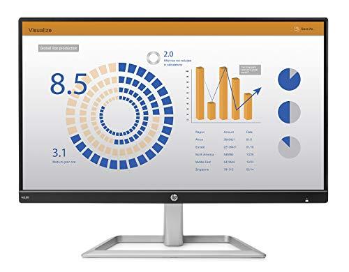 "HP N220 LED Display 54,6 cm (21.5"") Full HD Plana Negro, Plata - Monitor (54,6 cm (21.5""), 1920 x 1080 Pixeles, Full HD, LED, 5 ms, Negro, Plata)"