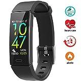 Bracciale Fitness, Braccialetto Fitness Tracker Cardiofrequenzimetro Pressione Sanguigna Contapassi Pedometro Conta Calorie Smart Watch Activity Tracker IP68 Compatibile per IOS Android
