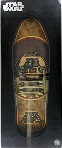 Santa Cruz Star Wars R2-D2 (Inlay) Collectible 10.35x31 Skateboard Deck by Santa Cruz