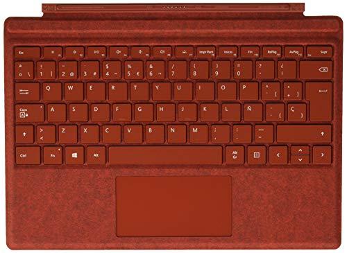Microsoft Surface Pro Signature - Funda con teclado, roja
