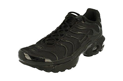 Nike - Air Max Plus 1 Regolate Plus (GS), modello TN 655020, scarpe da basket da allenamento, Nero (Nero ), 36.5 EU Étroit