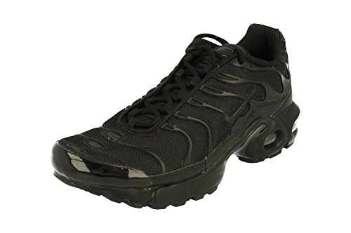 Nike Air MAX Plus GS TN Tuned 1 Trainers 655020 Sneakers Zapatos (UK 5.5 us 6Y EU 38.5, Black Black 009)