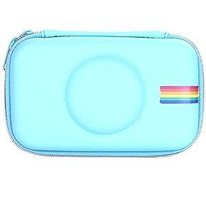 95sCloud - Funda rígida para cámara digital Polaroid SNAP & SNAP Touch, protección instantánea, antigolpes, resistente al polvo y al agua, con doble cremallera, color azul