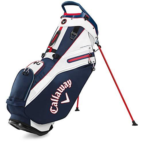 Callaway 5120079, Sacca da Golf Fairway 14 Stand, 2020 Unisex-Adult, Navy/Bianco/Rosso, Taglia Unica