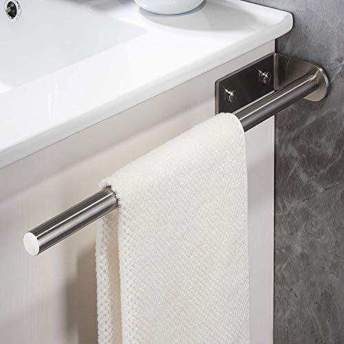 YIGII 40cm Handtuchhalter/Handtuchstange Edelstahl - für Badezimmer und Küche Wandmontage
