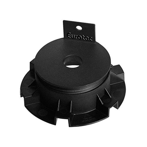 50 Stück Eurotec Minifoot/Eco S Verstellfüße Stelzlager aus Hartkunststoff 2,5-4,0 cm