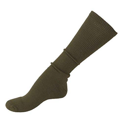 Mil-Tec US Socke mit Frotteesohle oliv Größe L