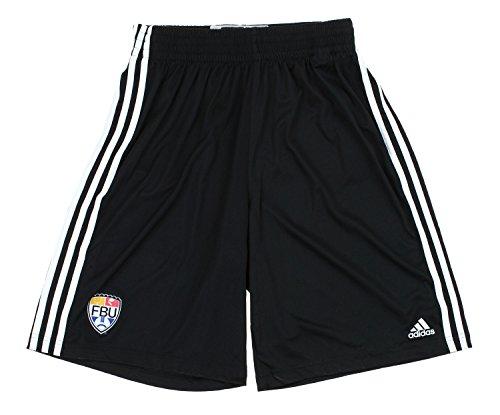 adidas Camiseta de fútbol de Universidad FBU Climalite Pantalones Cortos práctica, Negro, Negro