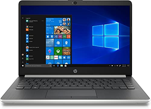 HP 14-cf0002ns - Ordenador portátil de 14' HD (Intel Celeron N4000 , 4GB RAM, 64GB eMMC, Intel UHD Graphics, Windows 10 S) Gris - Teclado QWERTY Español