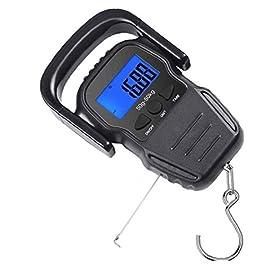Balances de pêche numérique Hameçon Hanging Portable Balance électronique Balance électronique numérique Bagages avec…