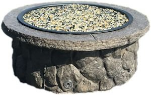 Concrete Fire Pit & Seat Wall Form Liner - Boulder Face Long 14' Tall 75' Long
