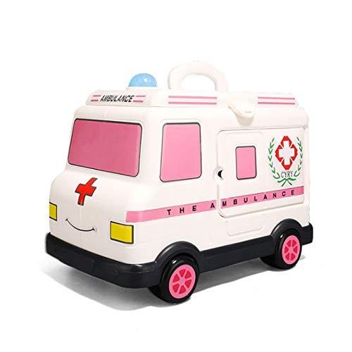 Casa De Juegos para Nios Caja De Herramientas De Ambulancia Nio Estetoscopio Mdico Inyeccin De Nia Pequeo Doctor Traje De Juguete Simulacin De Enfermera