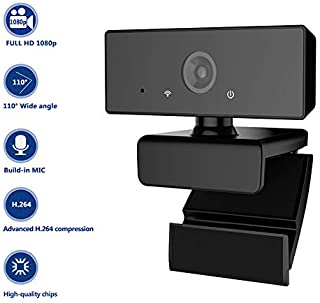 HD 1080P PC Camera Webcam with Microphone for Laptop Desktop Video Recording