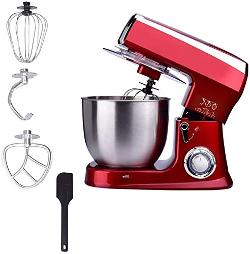 Electric Stand Mixer 1500 W 6 Speeds 8.5 Litre Mixing Bowl Food Whisk for Kitchen Baking Cake Mini Egg Cream Food Beater