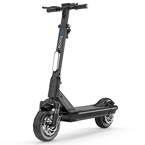 G-FORCE S10 Electric Scooter,10'' Tubeless Tire, 500W Motor,Max Speed 25 MPH,30 Miles Long-Range,Foldable and Portable Electric Scooter for Adults